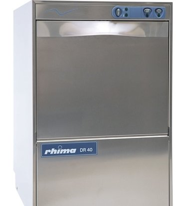 Rhima Glasswasher 40x40cm | RHIMA DR40 | 460x545x715mm
