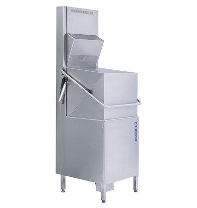 Rhima Pass-through dishwasher 3 Washing cycles Rhima WD-6 Green Plus   Including Steam Condenser Unit 600x657x1430 / 1875mm