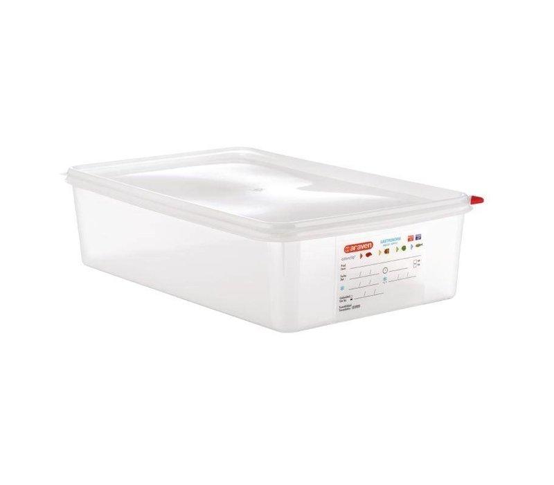 Araven Voedselcontainer GN 1/1 | Araven | 13,7 ltr | 4 Stuks