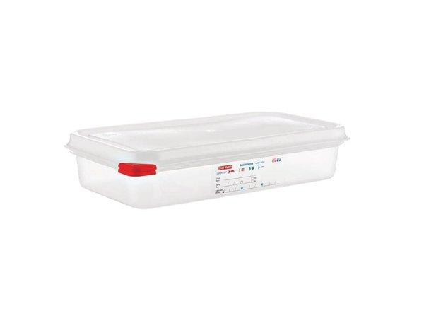 Araven Voedselcontainer GN 1/3 | Araven | 2,5 ltr | 4 Stuks