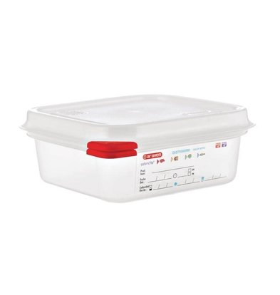 Araven Voedselcontainer GN 1/6   Araven   1,1 ltr   4 Stuks