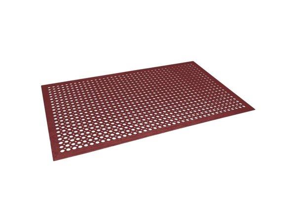 Bolero Antivermoeidheidsmat Rood | 90x150cm
