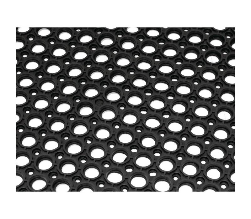 Bolero Antivermoeidheidsmat Zwart   90x150cm