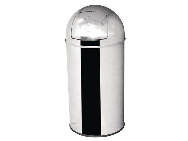 Bolero Afvalemmer RVS | Bolero | 47 Liter