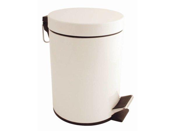 Bolero Pedaalemmer Wit   5 Liter