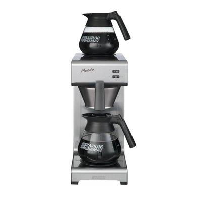 Bravilor Bonamat Koffiezetapparaat Mondo | 2 Warmhoudplaten | 2x 1,5 Liter | 620(h)mm