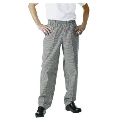 Chef Works Cooks Pants Checkered Black / White   Chef Works Easyfit   cotton   Available in 6 sizes