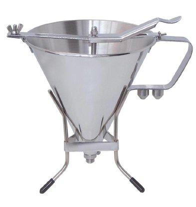 De Buyer Suikergiet Trechter RVS | 1,5 liter