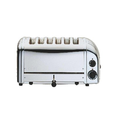 Dualit Toaster Dualit Stainless Steel   6 Slots   up to 195 slices p / u
