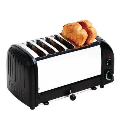Dualit Toaster Dualit Black   6 Slots   up to 195 slices p / u