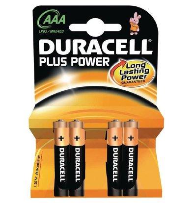Duracell Duracell Batterij AAA | Pakje 4 Stuks