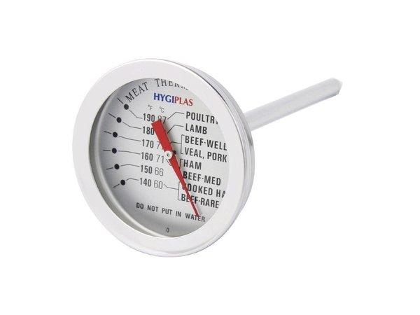 Hygiplas Vleesthermometer Hygiplas | +60°C tot +87°C | Ø50mm