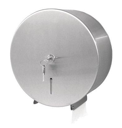 Jantex Jumbo Roldispenser | Gepolijst RVS | 260x218x270(h)mm