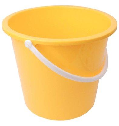Jantex Emmer Plastic   10 Liter   Geel