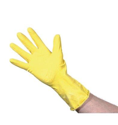 Jantex Latex Handschoenen | Jantex | Geel | Beschikbaar in 3 Maten