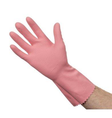 XXLselect Latex Handschoenen | Jantex | Rose | Beschikbaar in 3 Maten