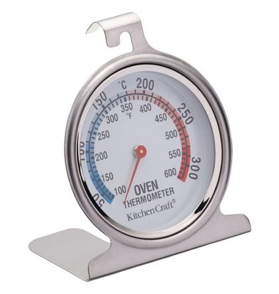 Kitchen Craft Oventhermometer RVS | 0°C tot 300°C | 70x76mm