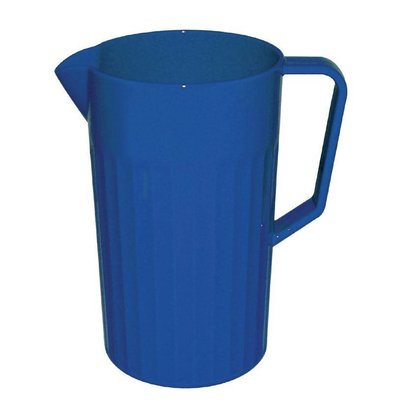 Kristallon Schenkkan Blauw | Polycarbonaat | 1,1 Liter