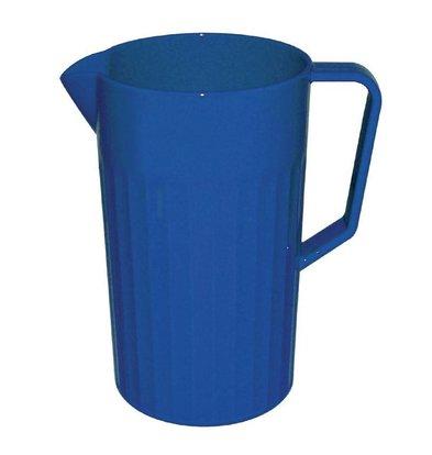 XXLselect Schenkkan Blauw   Polycarbonaat   1,1 Liter