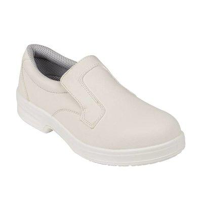 Lites Safety Footwear Instapschoen Wit | Lites | Beschikbaar in 10 Maten