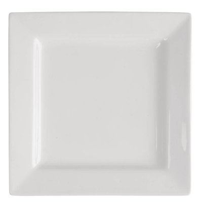 Lumina Vierkant Bord | Lumina Wit Porselein | 300mm | 2 Stuks