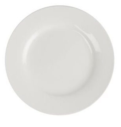 Lumina Bord Broad Border | Lumina White Porcelain | 270mm | 4 pieces