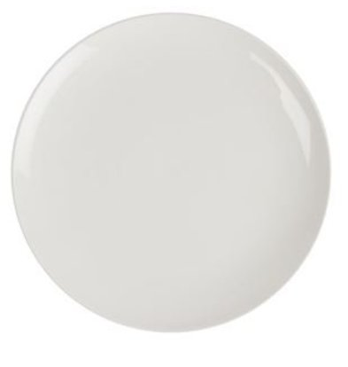 Lumina Coupe Plate | Lumina White Porcelain | 260mm | 4 pieces