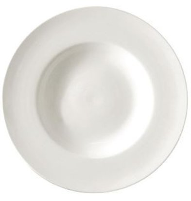 Lumina Soup Plate | Lumina White Porcelain | 260mm | 4 pieces