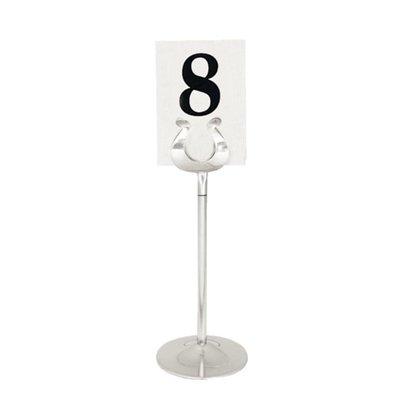 Olympia Tafelnummer Houder RVS | 200mm