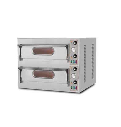 Resto Italia Pizza Oven 2 Rooms | Resto Italia | 980x930x750 (h) mm
