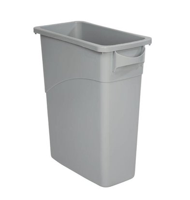 Rubbermaid Slim Jim Container Gray 60 liters