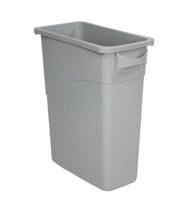 Rubbermaid Slim Jim Container | Grijs | 60 Liter