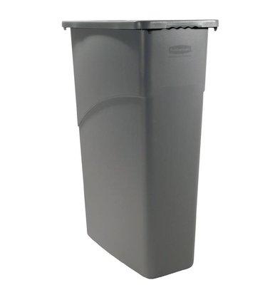 Rubbermaid Slim Jim Container | Grijs | 87 Liter