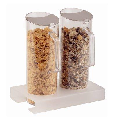 APS Cornflakes Standaard | Incl. 2 Plexiglas Kannen