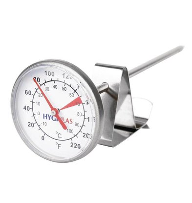 XXLselect Knopthermometer voor Melk | -10°C tot +110°C | 45mm