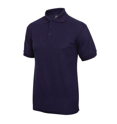 XXLselect Poloshirt Korte Mouw | Donkerblauw | Katoen | Beschikbaar in 4 Maten