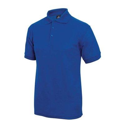 XXLselect Poloshirt Korte Mouw   Kobaltblauw   Katoen   Beschikbaar in 4 Maten