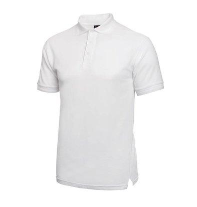 XXLselect Poloshirt Korte Mouw   Wit   Katoen   Beschikbaar in 4 Maten