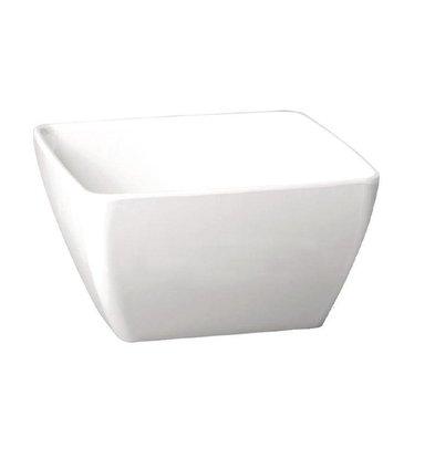 APS Pure Vierkante Kom | Wit Melamine | 125x125mm