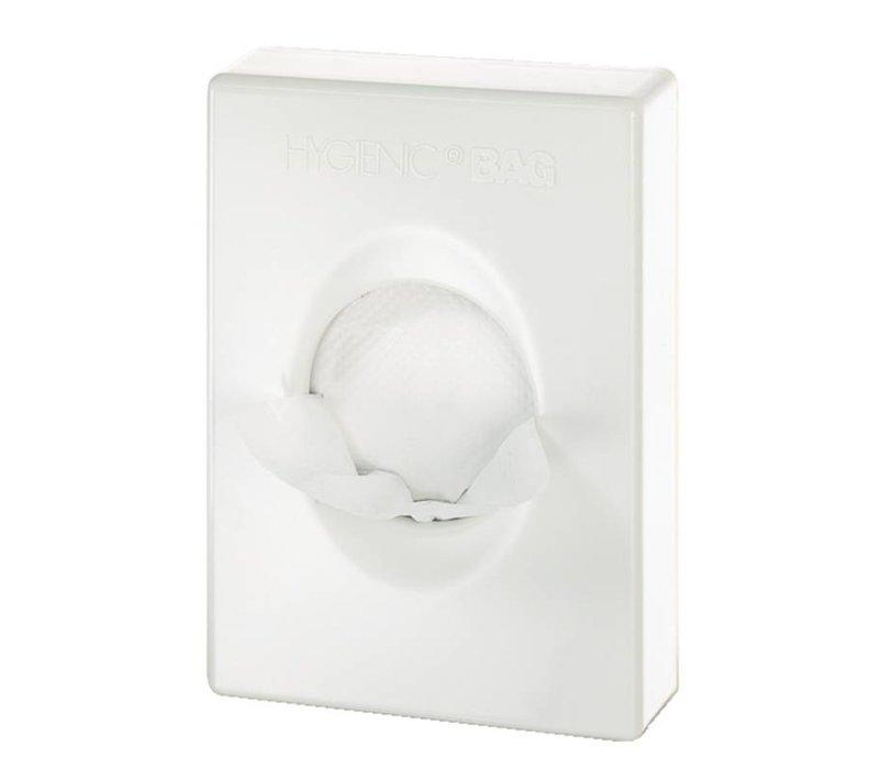 XXLselect Zakken Dispenser Wit | 98x25x136(h)mm