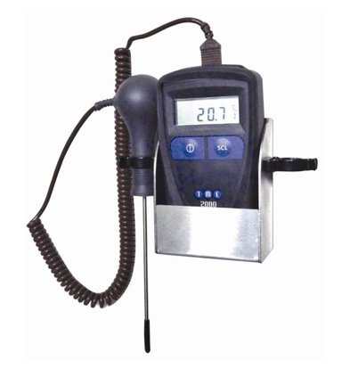 TME Thermometerset MM2000 | -110°C tot +280°C | Incl. Wandhouder