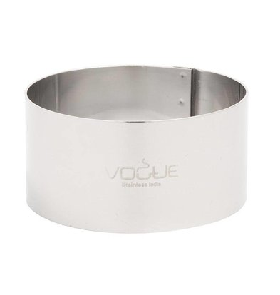 Vogue Moussering RVS | 70x35mm