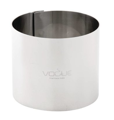 Vogue Moussering RVS | 90x35mm
