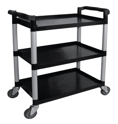 Vogue Trolley Black PP | 3 Sheets | up to 130 kg