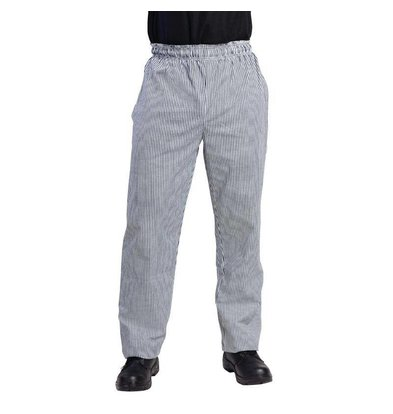 Whites Chefs Clothing Cooks Pants Black / White Checkered | Vegas Unisex | IN 6 SIZES