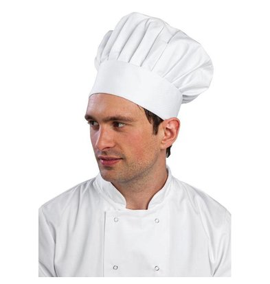 Whites Chefs Clothing Whites Koksmuts | Wit Katoen | IN 3 MATEN