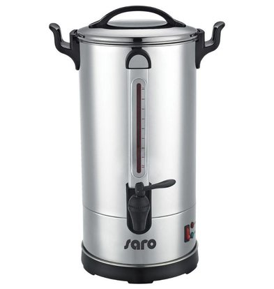 Saro Percolator RVS | Dubbelwandig | 5,1 Liter | tot 40 Kopjes| XXL AANBIEDING