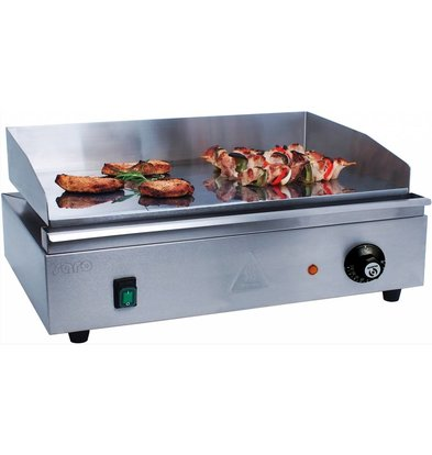 Saro Griddle Electric SS | smooth | 2400W | 550x380x240 (h) mm