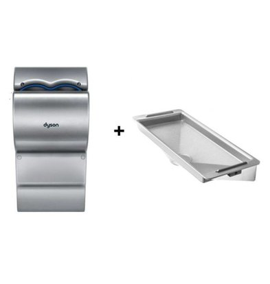 Dyson Ab14 set Dyson Airblade Hand Dryer Grey + Retention | Without Wall Protection