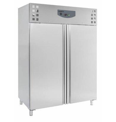 Combisteel Freezer Stainless Steel | 1410 Liter | 6x 2/1 GN | 1480x830x2010 (H) mm